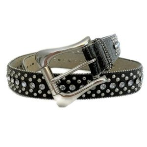 Guess BlackBelt ~ Embellished Jeweled Gems & Studs